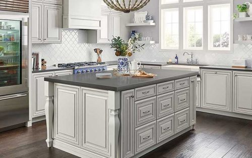 Mystic Gray Quartz Countertop