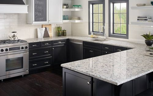 Pacific Salt Quartz countertop